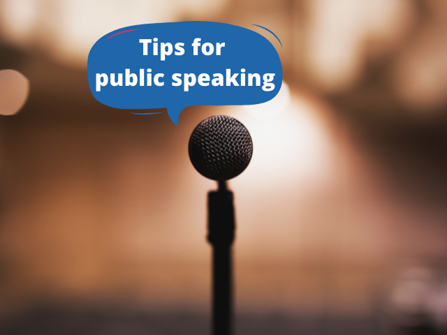 Speaking Publicly? Here Are Tips To Make It Memorable