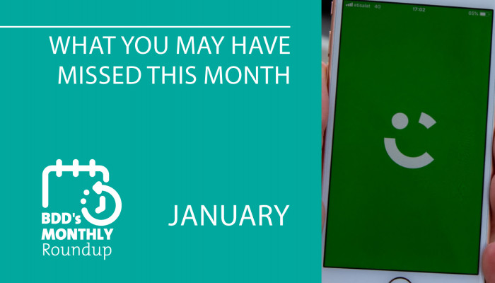 BDD's Monthly Roundup: What You May Have Missed (January)