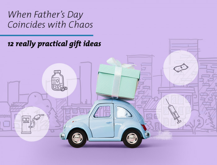 When Father's Day Coincides With Chaos - 12 Really Practical Gift Ideas