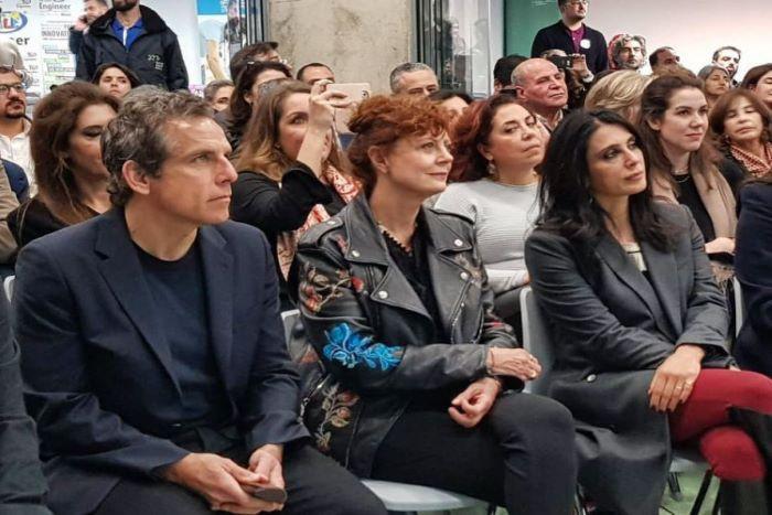 Screening of 'Soufra' documentary brings Susan Sarandon and Ben Stiller to the Beirut Digital District