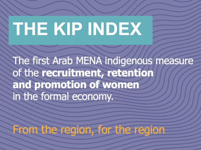 KIP Index: Very Low Representation Of Women In Leadership Positions In Regional Workplaces