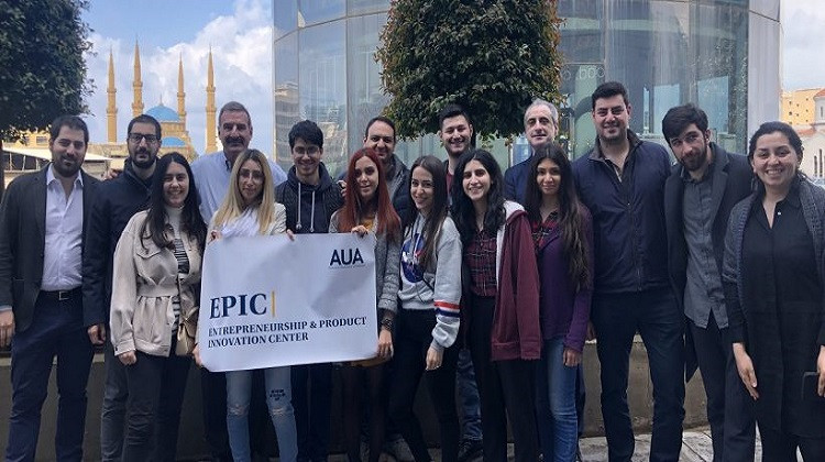 EPIC Entrepreneurs Tour Beirut Digital District